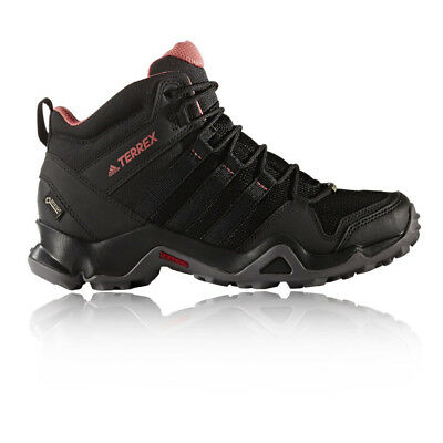 Adidas Terrex AX2R Mid Womens Black Waterproof Gore Tex Walking Hiking Shoes