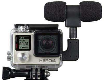 Go Pro Protective Housing Case+Mini Microphone Kit Adapter For Gopro Hero 3/3+4