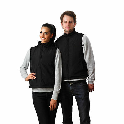 Battery Electric Heated Vest Womens Mens Unisex Winter Rechargeable Heller