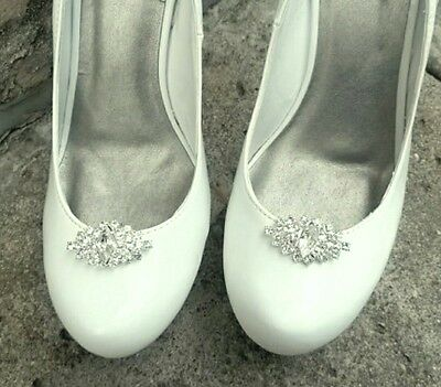 Wedding Shoe Clips, Bridal Shoe Clips, Shoe Clips,  Rhinestone Shoe Clips
