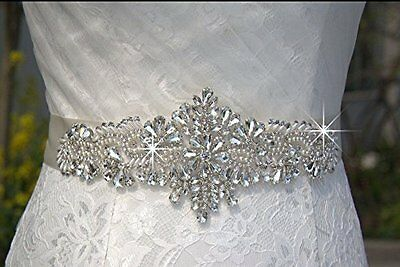 SALE - Wedding Belt, Bridal Belt, Sash Belt, Crystal Rhinestone Sash - Style