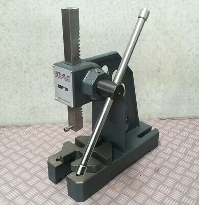 Arbor Press 1 Ton OPTIMUM Germany Precision Design Bearing Riveting Staking