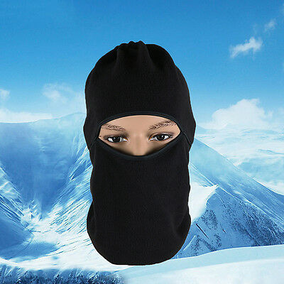 Motorcycle Thermal Fleece Balaclava Neck Winter Ski Full Face Mask Cap Cover HOT