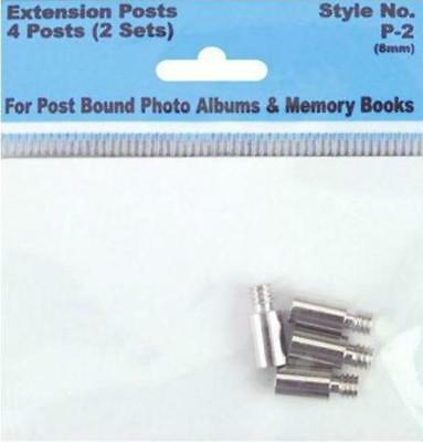 Pack Extension Screw Posts 8mm 4 Posts/Pkg (2 Sets) FREE SHIPPING