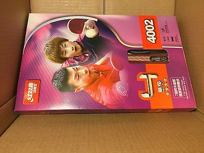 LATEST VERSION DHS 4002 TABLE TENNIS PING PONG PADDLE RACKET BAT 4-Star FL