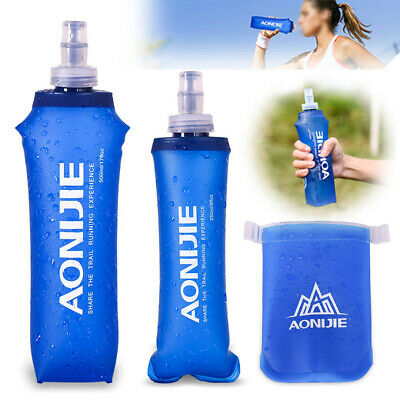 AONIJIE Soft Flask Sports Running Cycling Water Hydration Bottle 170/350/500ML