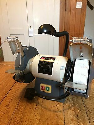 Axminster White Wide Stone Grinder  Metalwork Woodwork  Woodturning Wood Lathe