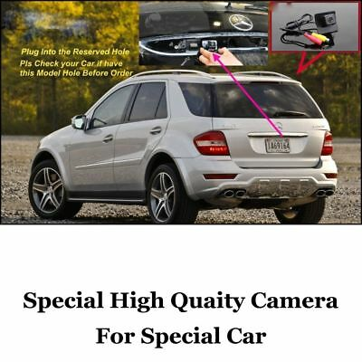 For Mercedes Benz GL ML R Class MB W164 X164 W251 Reserved Hole Rear View Camera