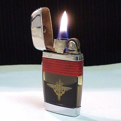Briquet ancien *@  Vu Lighter by Scripto US Arme  @* Lighter Feuerzeug Accendino