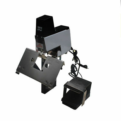 106 Electric Auto Rapid Stapler Binder machine 2-50 sheets with Pedal 220V