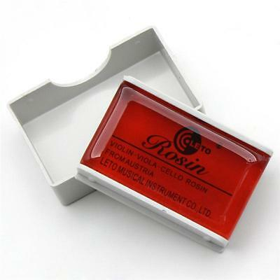 High Quality Rosin for Violin Viola Cello Round Shape Amber Color Acoustic DG1