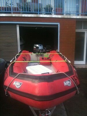 4.3m Achilles Inflatable Boat