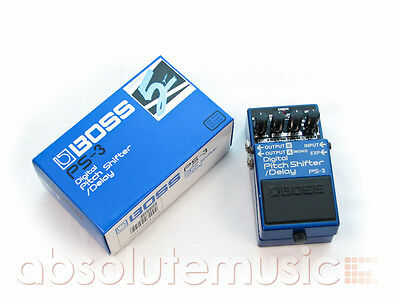 BOSS PS-3 Pitch Shifter & Delay Effects Pedal, Boxed (Pre-Owned)