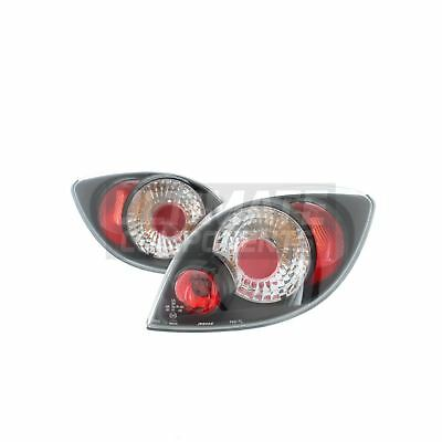 Ford Ka Mk1 Hatchback 1996-3/2009 Rear Back Tail Lights Lamps Black Lexus 1 Pair