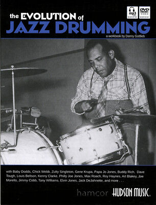 The Evolution of Jazz Drumming Danny Gottlieb Drum Music Book with DVD and CD