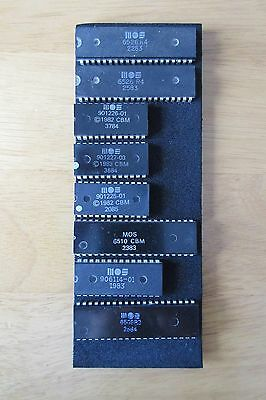 Commodore 64 - BIG CHIP SET -  TESTED