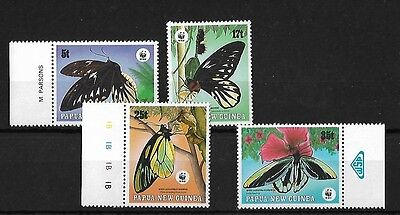 Papua New Guinea 1988 Endangered Species, Mnh