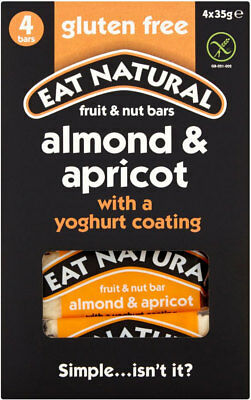 Eat Natural Yoghurt Coated Almond & Apricot Bars (20x3x50g)