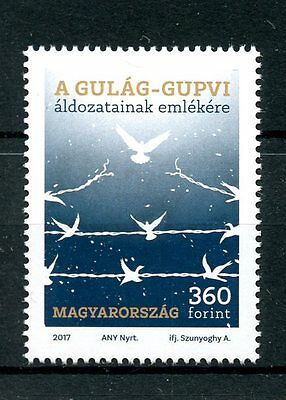 Hungary 2017 MNH In Memory of Gulag GUPVI Victims 1v Set War Doves Birds Stamps
