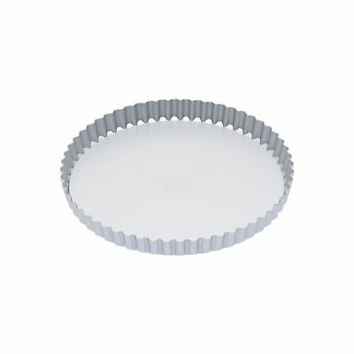 Master Class Silver Anodised 23Cm Loose Based Tart Tin