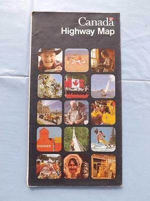 Canada Highway Map 1977 Survey Mapping Branch Department Energy Mines Resources