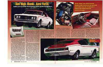 1969 Mercury Cyclone Spoiler 428 Cj - Cale Yarborough Special ~ 3Pg Article / Ad