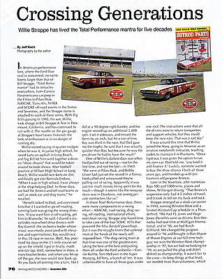 2004 Willie Stroppe  -  Total Performance  ~  Nice 3-Page Article