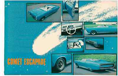 1966 Mercury Comet Escapade - George Barris Custom  ~  Nice 2-Page Article / Ad