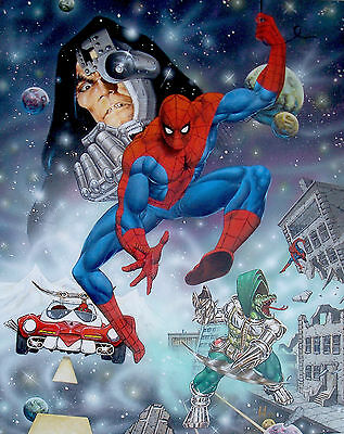 Cover Painting - Spider-Man (Japanese Style) - Joe Jusko - 1979