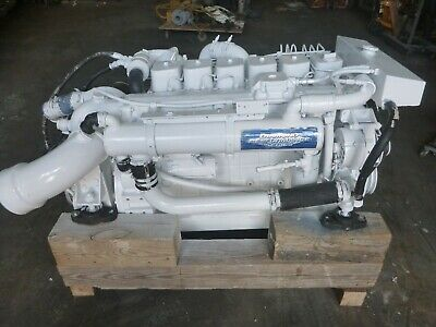 Cummins 6bta Marine Propulsion 315 Hp Diesel Twin Disc Transmission 14 550 00 Picclick