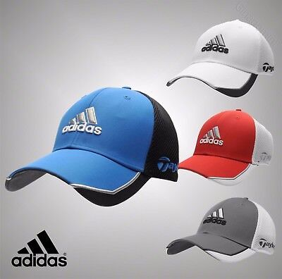 Mens Genuine Adidas Lightweight Stylish Taylormade Tour Mesh Golf Cap Headwear