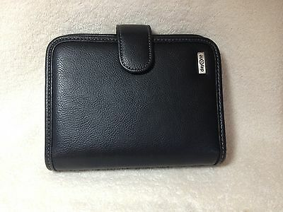 day one by Franklin planner organizer 6 rings one compartment w/zipper ,black