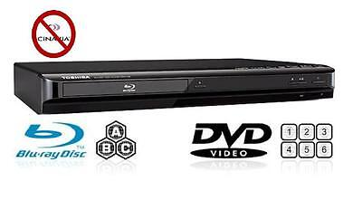 Toshiba MULTI REGION BDX1100 Blu-ray Player All regions free A B & C DVD 1-8