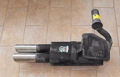 NOS Bosi muffler exhaust for Fiat 850