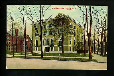 Buffalo, New York NY postcard University Club Vintage