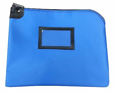 Cardinal Bag Supplies Locking Document Security HIPAA Bag 11 x 15 (Royal Blue)