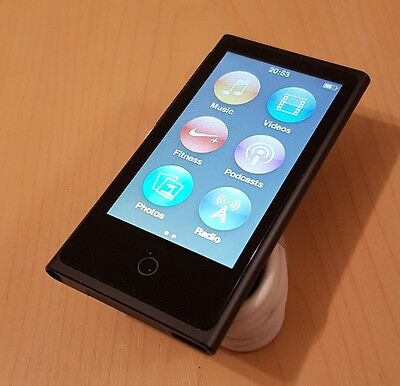 Ipod Nano 7th Generation 16gb Space Gray Immaculate Condition 1 Day Auction