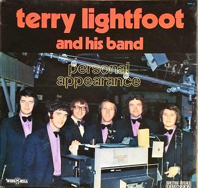 TERRY LIGHTFOOT & His Band 'Personal Appearance' (WMD 132) Vinyl LP 1972 -VG/EX