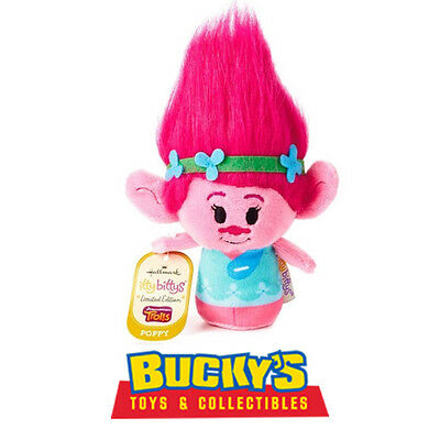 Poppy Hallmark itty bitty bittys  Dreamworks Trolls Limited Edition Pink  Branch