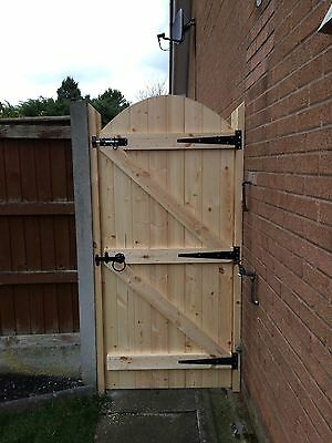 Wooden Garden Gate Free Hinges And Top Bolt