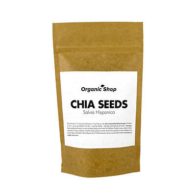 Raw Natural CHIA SEEDS -- (100g - 1kg) -- SPECIAL PRICE