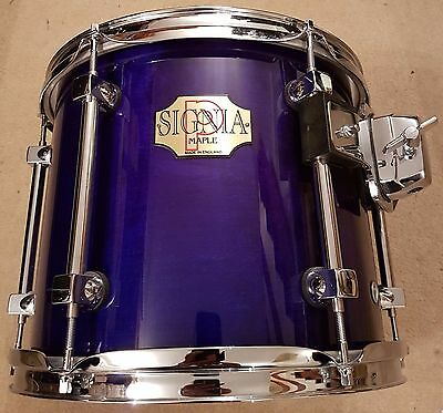 """Premier Signia 12"""" tom sapphire blue IMMACULATE CONDITION!"""