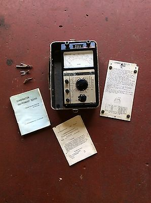 Combination Instrument (Avometer Transistor Tester) Spares Or Repair, Project