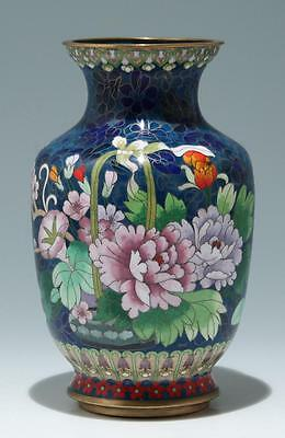 Große chinesische Cloisonné Vase            #as114