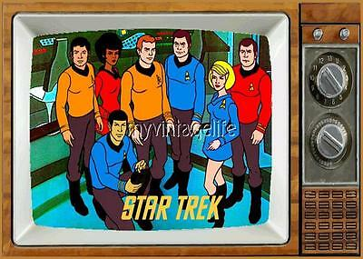 "STAR TREK animated series TV Fridge MAGNET  2"" x 3"" art SATURDAY MORNING CARTOON"