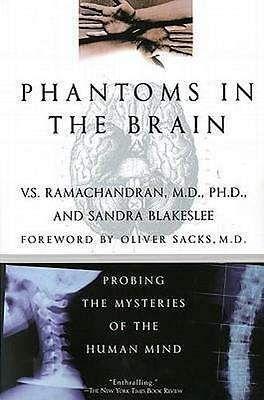 NEW Phantoms in the Brain By V. S. Ramachandran Paperback Free Shipping