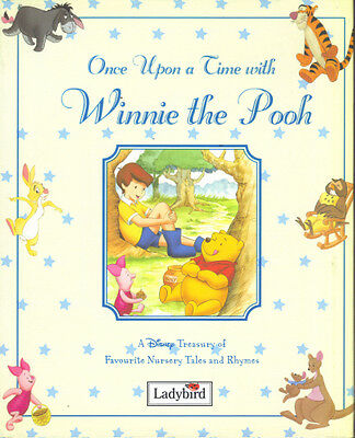 ONCE UPON A TIME WITH WINNIE THE POOH DISNEY - LADYBIRD 1998 1st Edn HB DJ - NEW