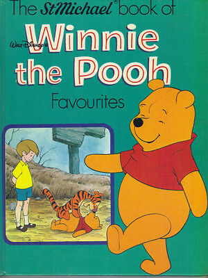 THE ST MICHAEL BOOK OF WINNIE THE POOH FAVOURITES - 1980 HB - Very Good - DISNEY