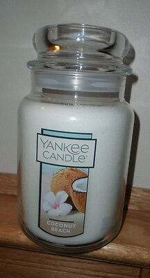 Yankee Candle ~ Coconut Beach~ Large 22 Oz Jar Candle ~ New
