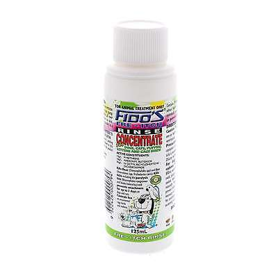 Dog Cat Cage Birds Fre-Itch Flea Concentrate Rinse Itch Free 125ml Fidos